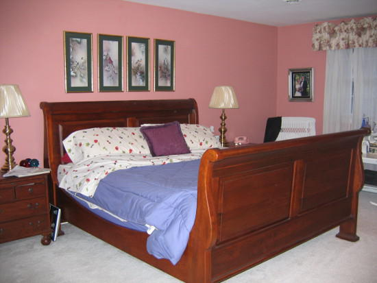 pink beadroom